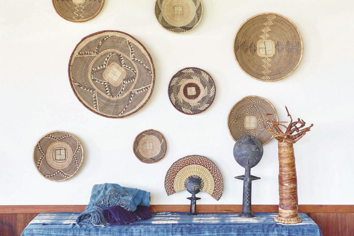 アフリカ雑貨で彩る、モダン・インテリア ジンバブエバスケット