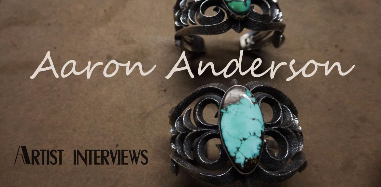 アーロンアンダーソン Aaron Anderson アーティストインタビュー